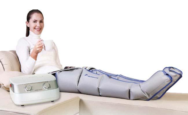 Лимфодренаж дома, переносной аппарат для прессотерапии