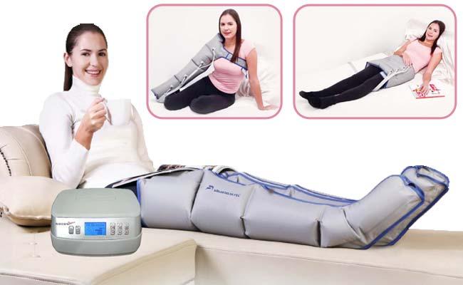 Аппарат для прессотерапии, лимфодренажа. 4-х камерный (четырёхкамерная компрессионная лимфодренажная система) Pharmacels 1000Premium