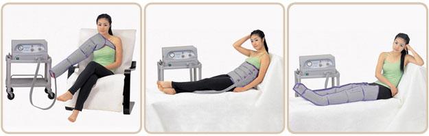 лимфодренаж в домашних условиях,аппарат для пневмомассажа