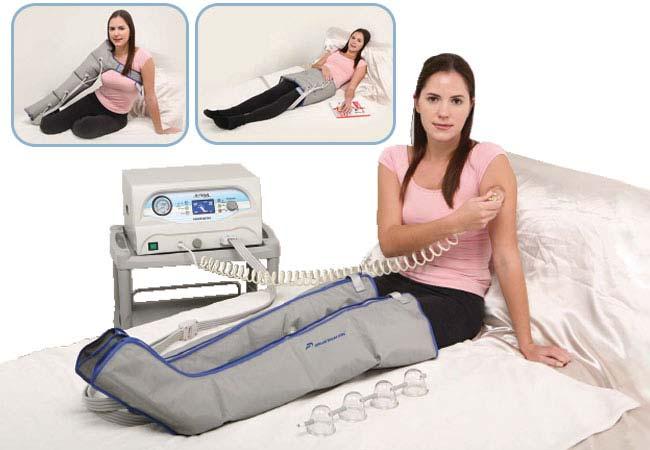Аппараты для физиотерапевтических процедур: прессотерапия, лимфодренаж, вакуумный массаж