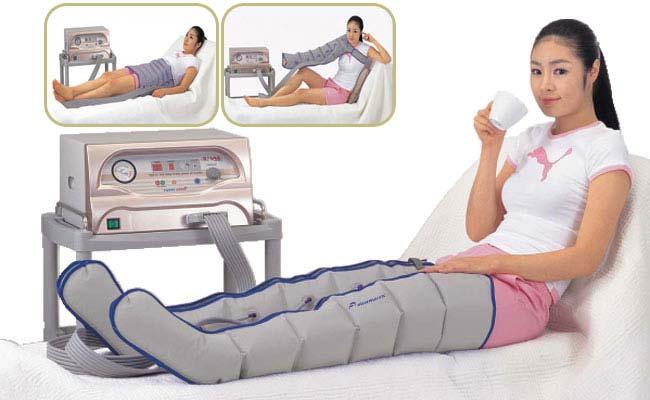 Аппараты для прессотерапии, лимфодренажа. 6-ти камерный (шестикамерная компрессионная лимфодренажная система)