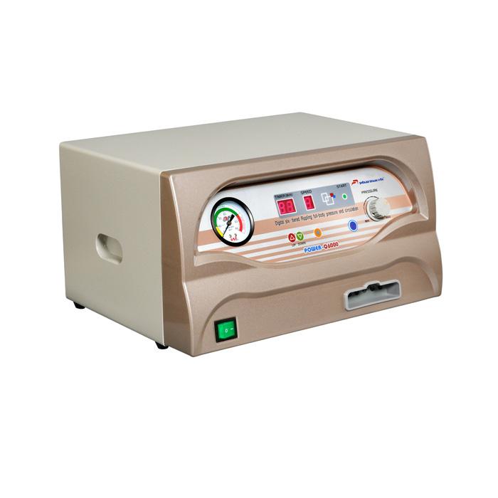 Аппарат для прессотерапии, лимфодренажа, Вид сбоку, (шестикамерная компрессионная лимфодренажная система) Pharmacels 6000 (Фармацельс)
